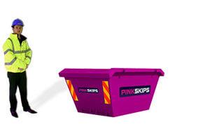 pink skip bags